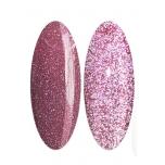 Helkur- valgustpeegeldav roosa 15g geellakk