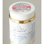 Valge  prantsuse maniküüri geel, isetasanduv 7g